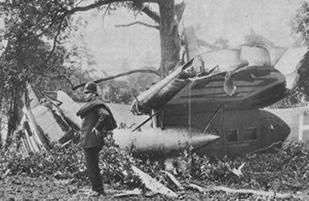 1927年KLMオランダ航空フォッカー F.VIII墜落事故