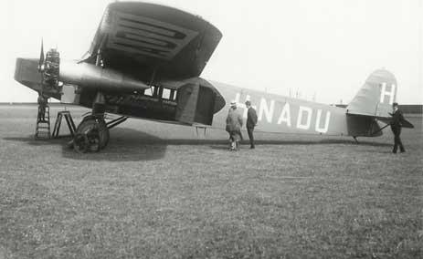 About: 1927 KLM Fokker F.VIII ...