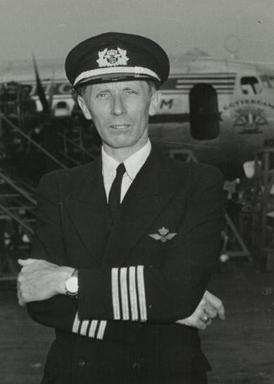 uniform piloot klm